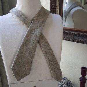 Glenshane 100% New Wool Dongal Tweed tie